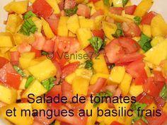 Ma 250e recette.  Wow, comme ça passe vite.  Cette recette de salade toute simple et toute fraîche provient du blog de Catherine.  Malheu...