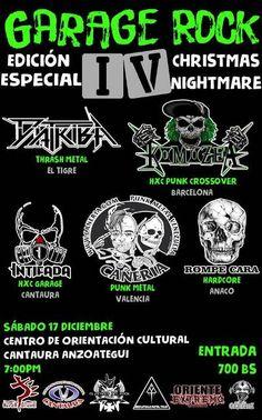 """DIATRIBA anuncia su presentación en el """"Garage Rock IV"""" http://crestametalica.com/diatriba-anuncia-su-presentacion-en-el-garage-rock-iv/ vía @crestametalica"""