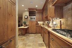 #Kitchen Idea of the Day: A Beautiful Country-Rustic Kitchen!