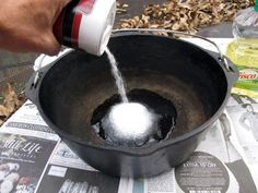How to Restore and Season a Cast-Iron Dutch Oven