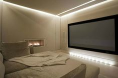 One day....a house with a home theatre...for cuddling on the sofa and watching endless movies!