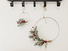 Items similar to Berry Winter Christmas Minimalist Wreath Set Winter Christmas, Christmas Wreaths, Christmas Crafts, Christmas Decorations, Xmas, Christmas Wedding, Merry Christmas, Wedding Doors, Decor Wedding
