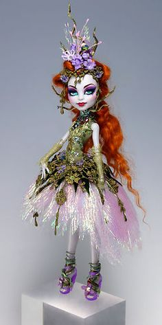 OOAK Monster High Doll Repaint and Custom Dress Outfit by Van Craig | eBay