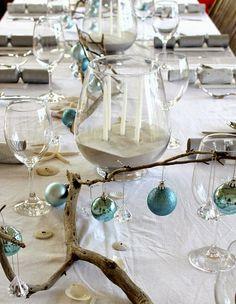 By the Beach christmas table setting | Christmas | Pinterest | Beach ...