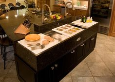 The Galley Ideal Workstation 2 is ideal in large kitchens as a ...