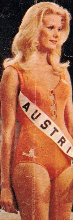 Ursula (Uschi) Pacher - Miss Universe Austria 1972