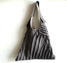 Awesome linen sling tote by yorktown road etsy store