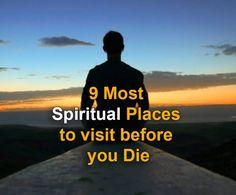Spiritual Places to visit before you die #travel #footlogs #traveling #spiritual #world #wonderer