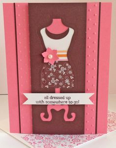 All Dressed Up Card - Stampin' Connection