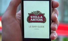 The Stella Artois 'Le Bar Guide' App Leads You to Your Favorite Beer #drinking #apps trendhunter.com