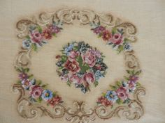THE NEEDLEPOINT PATTERNS BELOW ARE REALLY BEAUTIFUL AND UNUSUAL. THE PATTERNS ARE STITCHED RIGHT ONTO THE CANVAS IN 1 PLY 100% WOOL. THIS TYPE OF NEEDLEPOINT IS CALLED TRAME' AND THE CLOTH IS...