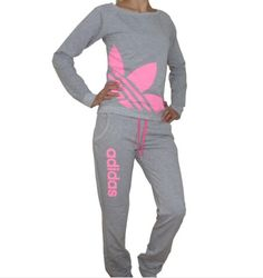 New Season Adidas Neon Series Women Tracksuit cotton material, comfortable, multiple neon colors made in Europe, European sizes. (For US Choose one size bigger) Rose Gold Adidas, Gray Adidas, Adidas Workout Clothes, Adidas Tracksuit, Adidas Nmd, Adidas Outfit, Adidas Shoes, Sporty Outfits, Athletic Wear