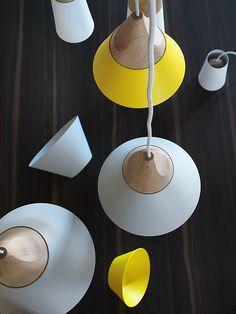 SLOPE Lampada a sospensione by Miniforms design Skrivo
