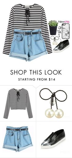 """""""Newchic 6.4"""" by emilypondng ❤ liked on Polyvore featuring Chicnova Fashion and Casetify"""