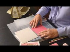 How to use the Grand Duets Embossing Folders