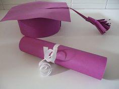 knutselen met peutertjes : thema: naar school -- diploma - afstudeerhoed