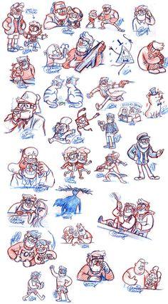Gravity Falls Sketchdump