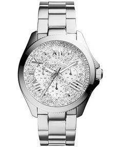 Fossil Women's Cecile Stainless Steel Bracelet Watch 40mm AM4601