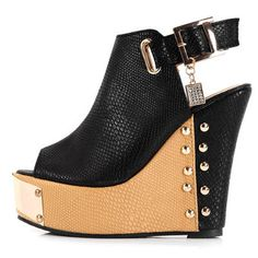 Just Riveting Wedge Shoe  $49.99