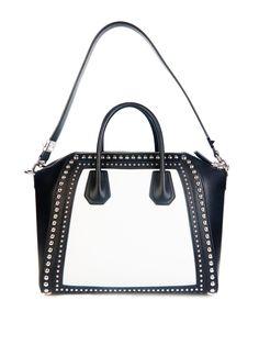 Antigona studded medium leather tote   Givenchy   MATCHESFASHION.COM UK