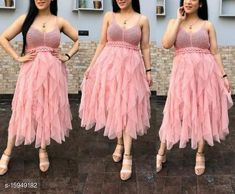 Dresses Urbane Latest Women Dresses Fabric:Net and Crochet Sleeve Length: Sleeveless Pattern: Lace Multipack: 1 Sizes: Size- S ( Bust size- 34 in, Length size-   44  in )          M ( Bust size- 36 in, Length size-  45  in )           L  ( Bust size- 38 in, Length size-  46  in )   Country of Origin: India Sizes Available: S, M, L   Catalog Rating: ★4.1 (561)  Catalog Name: Women's Net Dresses CatalogID_2827950 C79-SC1025 Code: 846-15949182-7971