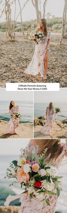Cliffside Portraits featuring Show Me Your Mumu X GWS