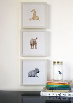 All Creatures Great and Small: Baby Rhino Fine by EclecticaKiddo