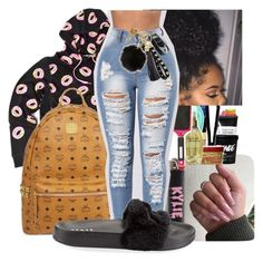 """""""Odd future"""" by bow-girl531 ❤ liked on Polyvore featuring ODD FUTURE, MCM, !iT Collective and Puma"""