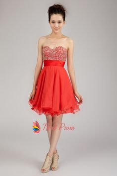 f6cf608dfe9c Short Chiffon Strapless Homecoming Dress, Chiffon Short Formal Dresses,  Strapless Sweetheart Cocktail Dress Strapless