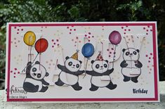 Stampin' Up! - Party-Pandas - eclipse technique / Barbara Meyer / barbaras-kreativ-studio