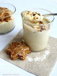 Rezepte mit Herz ♥: Lebkuchen - Mousse mit weißer Schokolade