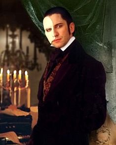 Gerard Butler from the Phantom of the Opera