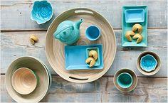 Een mooi gedekte tafel zorgt voor een extra feestelijk gevoel! V