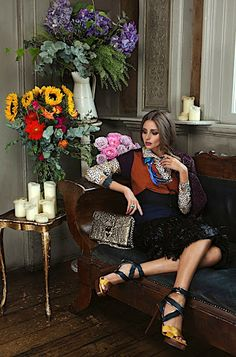 THE OLIVIA PALERMO LOOKBOOK: Just Gorgeous !!!