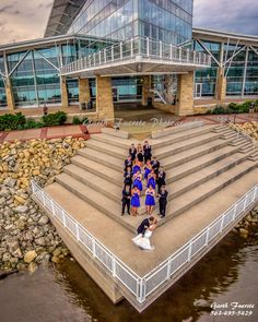 The First aerial / drone Wedding Shoot!  Taken July 12th, 2014 by Garth Fuerste Photography at the Grand River Center in Dubuque, IA.  www.garthfuerstephotography.com
