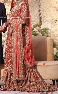 Pakistani Fashion Party Wear, Pakistani Wedding Outfits, Indian Bridal Outfits, Pakistani Dresses, Indian Dresses, Dulhan Dress, Latest Bridal Dresses, Dress Indian Style, Traditional Outfits