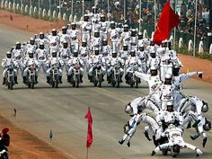 Daredevils's performance at India Republic Day in 26th January