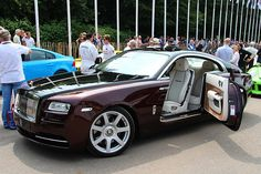 Rolls Royce Wraith at the 2013 Goodwood Festival of Speed