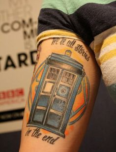 30 Geek Tattoo Designs You Won't Believe - Smashcave Time Tattoos, Body Art Tattoos, New Tattoos, I Tattoo, Symbol Tattoos, Tatoos, Doctor Who Tattoos, Tattoo Clothing, Clothing Apparel
