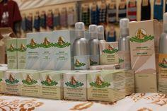 Stand di Bottega della Canapa - Cosmesi naturale a base di olio di #canapa Antica Fiera della Canapa #Gambettola 22 Novembre 2014