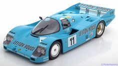 Le Mans Norev 1:18 Porsche 962 C No.11, 24h Le Mans Fouché/Konrad/Taylor 1987 Leyton House Limited Edition 1000 pcs. www.modelissimo.de