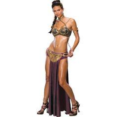 Adult Princess Leia Slave Costume - Star Wars