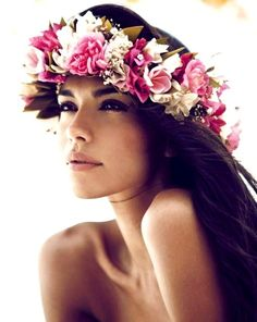 ladies, try attaching a beautiful and fragrant flower to your hairstyle. The Island women have been doing this tradition before recorded time, choose 1 that brings a positive characteristic value to your being x