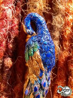 Royal Peacock by GFProjects on Etsy