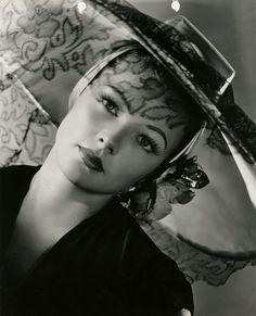 "Gene Tierney publicity photograph for""Laura"" (Fox, 1944)"