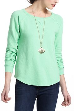 #Mint sweatshirt