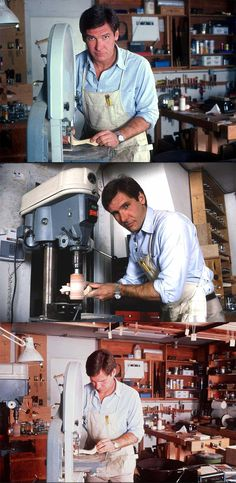 http://teds-woodworking.digimkts.com/ I can totally do this myself woodworking signs Harrison Ford showing off his woodworking skills in his home in Bel Air, 1984