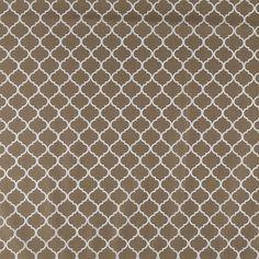 Get Khaki Mini Quatrefoil Cotton Calico Fabric online or find other Cotton Calico Fabric products from HobbyLobby.com
