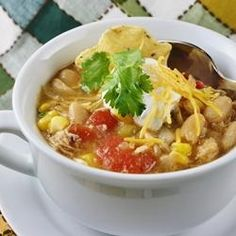 White Bean Chicken Chili | Ready in 35 minutes! An easy top-rated weeknight meal.