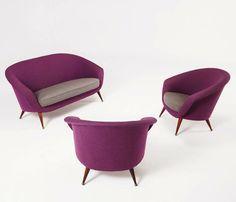 Club Chairs by Folke Jansson